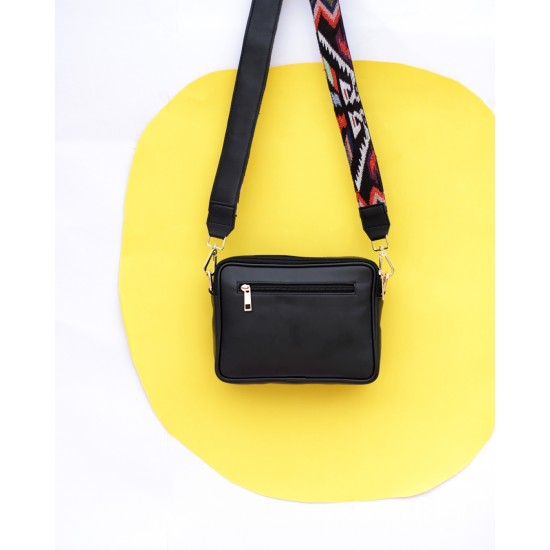 Black Sling Pouch