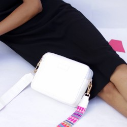 White Sling Pouch